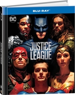 copertina film Justice League (Blu-Ray Disc - Digibook)