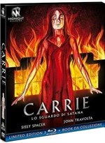 copertina film Carrie - Lo sguardo di Satana - Limited Edition (3 Blu-Ray Disc + Booklet)