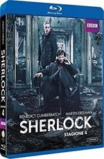 copertina film Sherlock - Stagione 4 (2 Blu-Ray Disc)