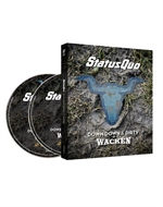copertina film Status Quo - Down down & Dirty at Wacken - Limited Edition (Blu-Ray Disc + CD)