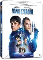 copertina film Valerian e la città dei mille pianeti (Blu-Ray Disc - SteelBook)
