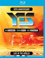copertina film Yes - 50th Anniversary Live at The Apollo (Blu-Ray Disc)