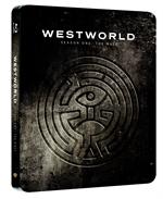 copertina film Westworld - Dove tutto è concesso - Stagione 1 (3 Blu-Ray Disc - SteelBook) (Esclusiva DVD-STORE)