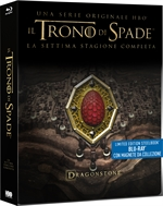 copertina film Il Trono di Spade - Stagione 7 (3 Blu-Ray Disc - SteelBook)
