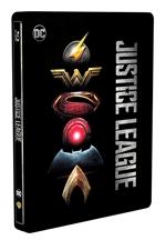 copertina film Justice League (Blu-Ray Disc - SteelBook)