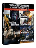 copertina film Transformers - 5 Film Collection (5 Blu-Ray Disc + Bonus Disc)