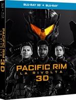 copertina film Pacific Rim - La rivolta 3D (Blu-Ray 3D + Blu-Ray Disc)
