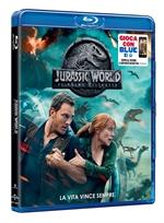 copertina film Jurassic World - Il regno distrutto (Blu-Ray Disc)