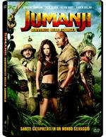copertina film Jumanji - Benvenuti nella giungla
