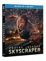 copertina film Skyscraper (Blu-Ray 3D + Blu-Ray Disc)