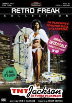copertina film TNT Jackson - La furia di Harlem (Retro Freak  Collection)