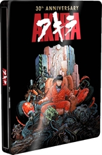 copertina film Akira - 30th Anniversary Edition (Blu-Ray Disc + DVD - SteelBook)