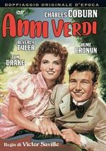 copertina film Anni verdi