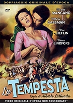 copertina film La Tempesta (1958)