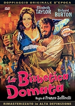 copertina film La bisbetica domata (1967)