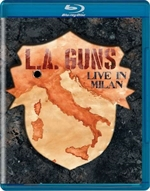 copertina film L.A. Guns - Made In Milan (Blu-Ray Disc)