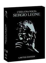 copertina film C'era una volta Sergio Leone - Limited Edition (7 Blu-Ray Disc)