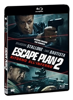 copertina film Escape Plan 2 - Ritorno all'inferno (Blu-Ray Disc)