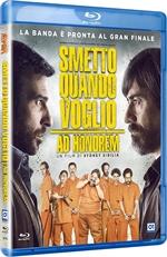 copertina film Smetto quando voglio - Ad honorem (Blu-Ray Disc)