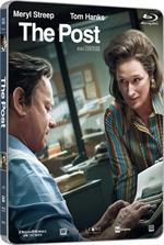 copertina film The Post (Blu-Ray Disc - SteelBook)