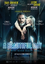 copertina film A Beautiful Day - You Were Never Really Here