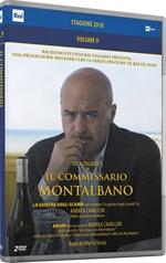 copertina film Il commissario Montalbano - Stagione 2018 (2 DVD)