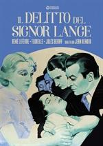 copertina film Il delitto del signor Lange (Cineclub Classico)