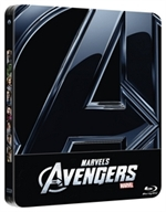 The Avengers (Blu-Ray Disc + Bonus Disc - SteelBook Limited Edition + Playing Cards)