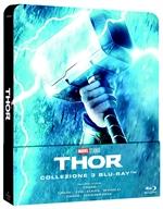 copertina film Thor - La Collezione Completa (3 Blu-Ray Disc - SteelBook)