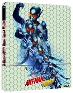 copertina film Ant-Man and the Wasp (Blu-Ray 3D + Blu-Ray Disc - SteelBook)