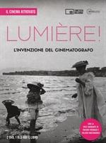 copertina film Lumière! L'invenzione del cinematografo (Il Cinema Ritrovato) (Blu-Ray Disc + 2 DVD + Booklet)