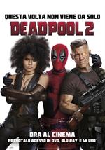 copertina film Deadpool 2 (Blu-Ray Disc)