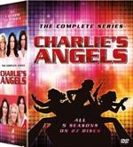 copertina film Charlie's Angels - La Serie Completa - Stagioni 1-5 (29 DVD)