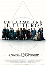 copertina film Animali Fantastici - I Crimini di Grindelwald (Blu-Ray Disc - SteelBook)