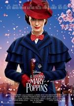 copertina film Il ritorno di Mary Poppins (Blu-Ray Disc - SteelBook)