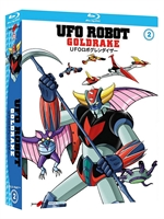copertina film Ufo Robot Goldrake - Volume 2 (3 Blu-Ray Disc)