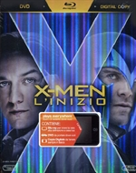 X-Men - L'inizio - Combo Pack (Blu-Ray Disc + DVD + Copia Digitale)