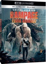 Rampage - Furia animale (4K Ultra HD + Blu-Ray Disc)